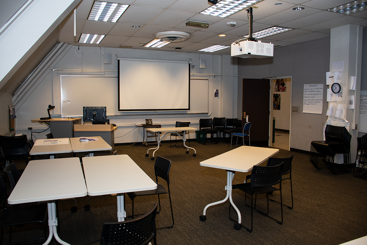 Miller 411 from back of the room